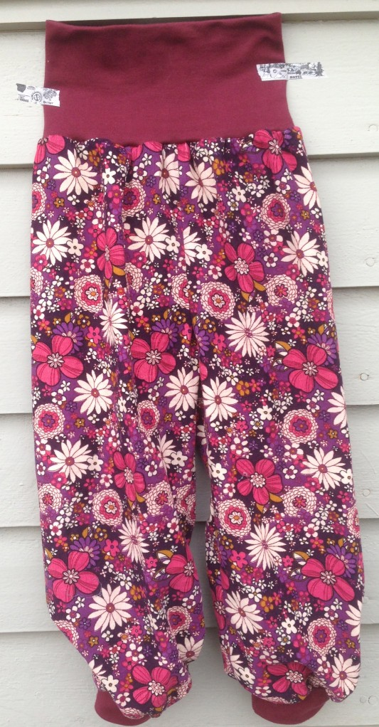 Flower Power bukse.