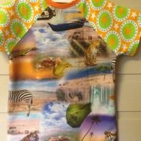 På safari, t-skjorte