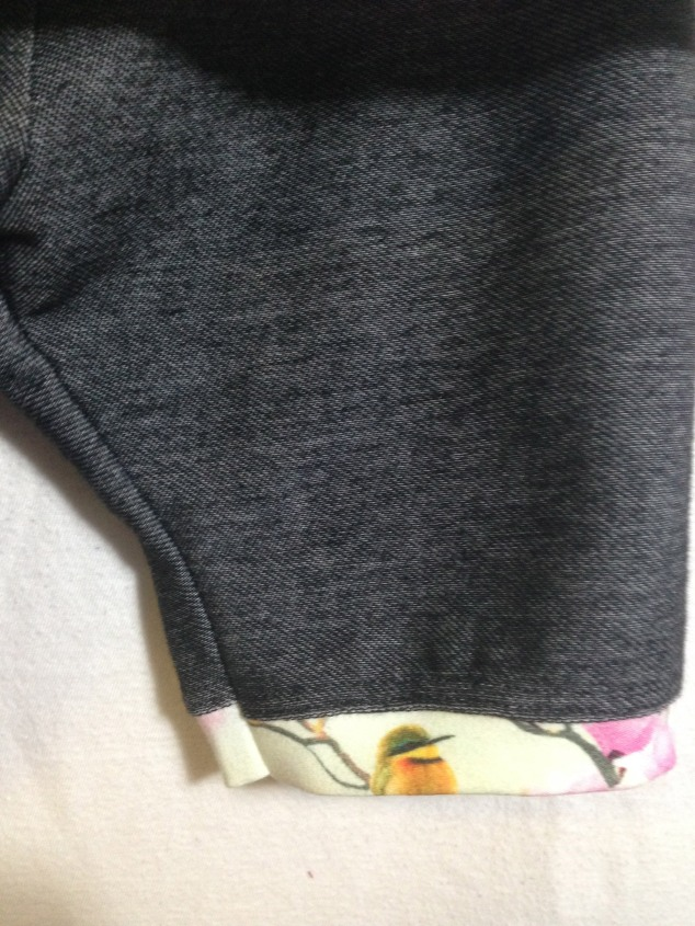 shorts detalj