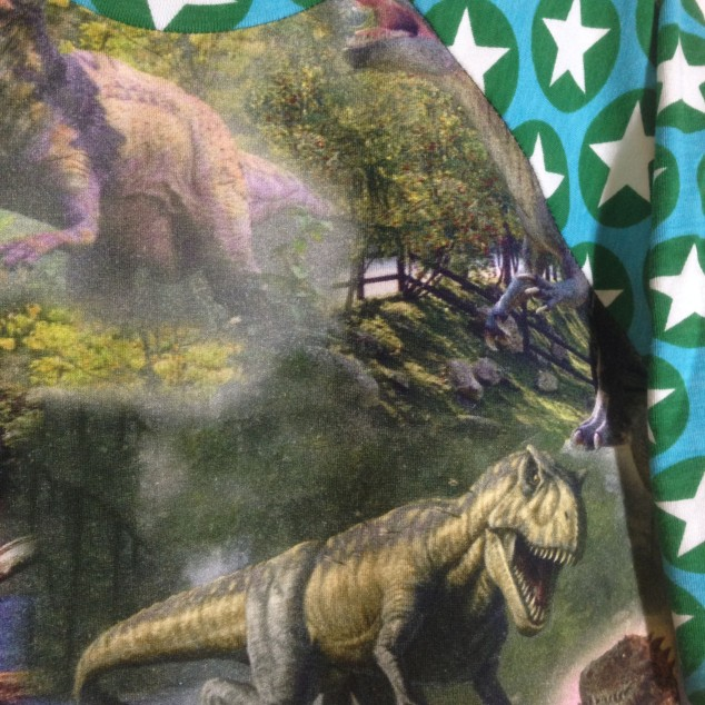 dinosaur detalj