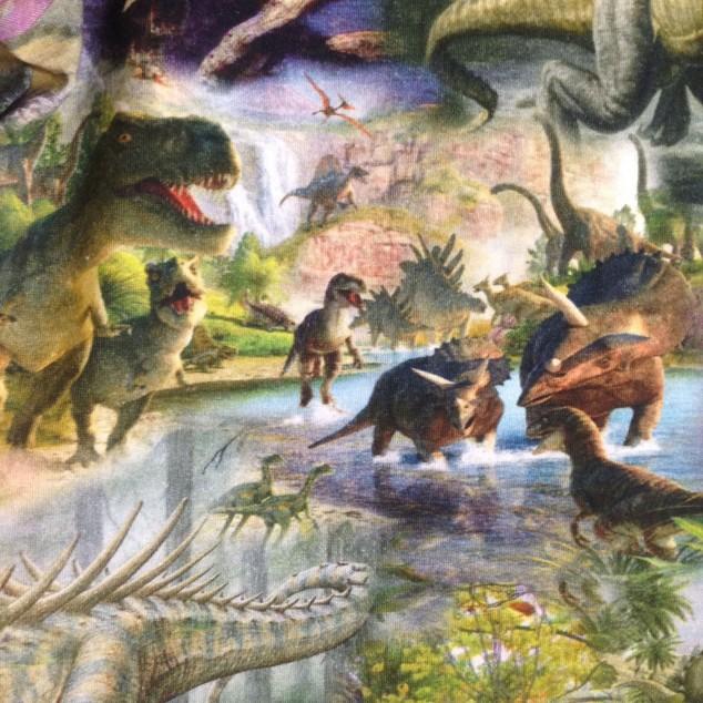 dinosaurdetalj