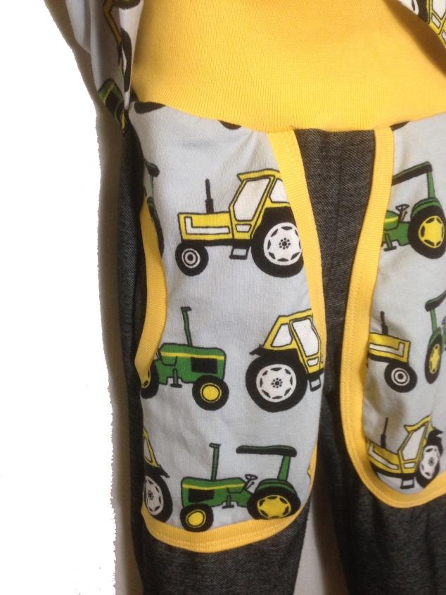 Traktor shorts detalj