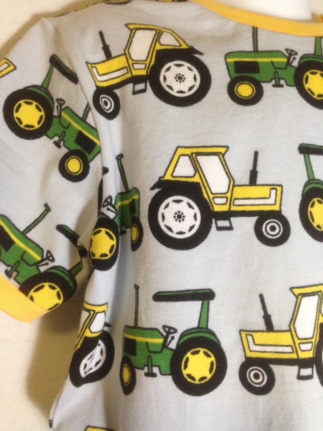 Traktor T-skjorte detalj